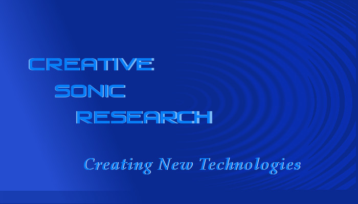 Creative Sonic Research